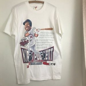 Vintage 1996 Kirby Puckett Charactercher T-Shirt